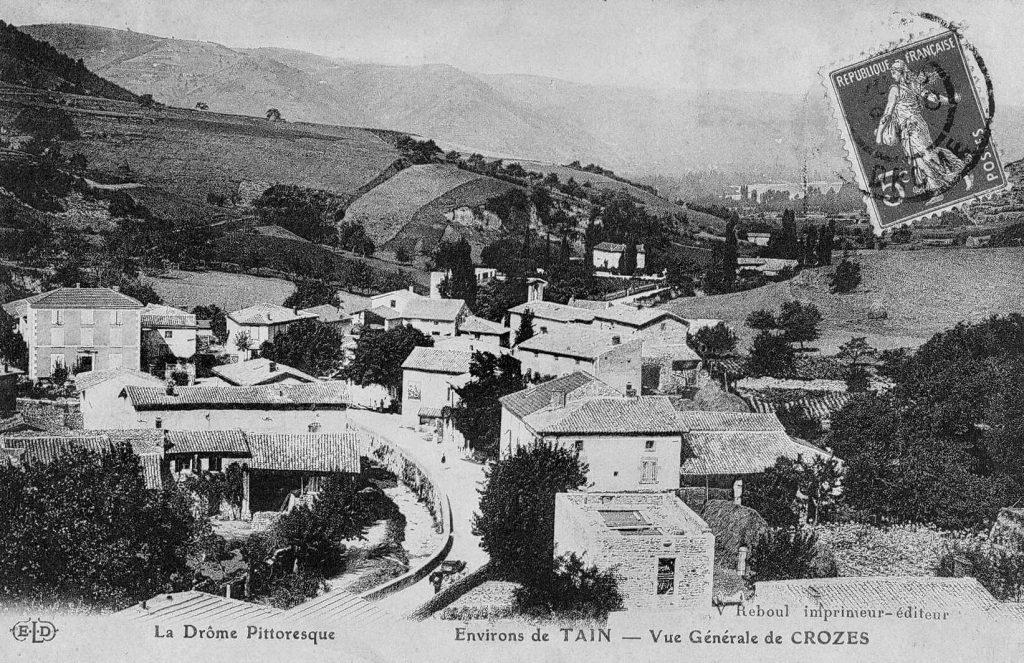 La Drôme Pittoresque Environs de Tain - Vue Générale de Crozes